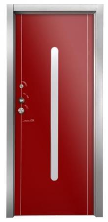 דלת אדומה - דקור - DECOR