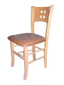 כסא עם גב מעוצב