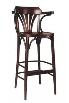 כסא בר עם ידיות
