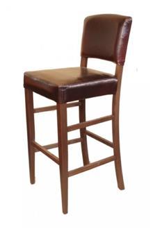 כסא בר איטלקי מרופד