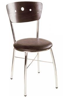 כסא מתכת בציפוי ניקל