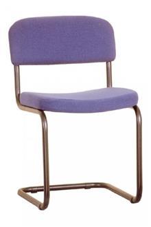 כסא מתכת סגול