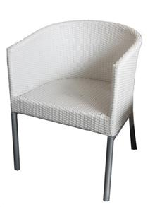כסא גינה לבן