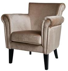 כורסא מוזהבת לסלון