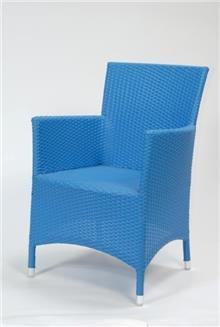 כסא גינה כחול