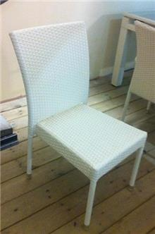 כיסא גינה לבן