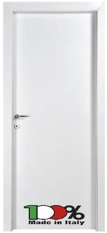 דלת לבנה מרשימה