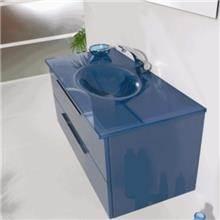 ארון אמבטיה כחול