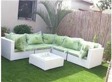 מערכת ישיבה פינתית לגינה