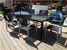 שולחן גן מאלומיניום