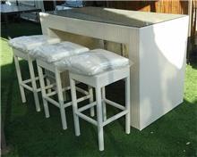 שולחן בר לגינה
