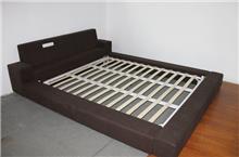 מיטה זוגית מבד