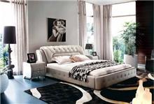 מיטה קלאסית שמנת