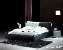 מיטה זוגית דמוי עור