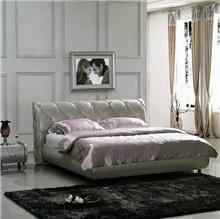 מיטה זוגית מודרנית כסופה