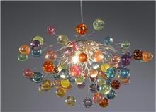 מנורה בצבעי פסטל - יהודה אוזן