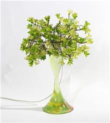 מנורה עומדת ירוקה - יהודה אוזן