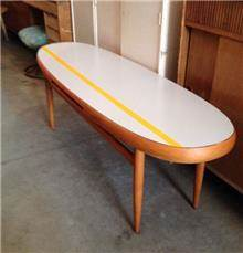 שולחן סלון אובאלי