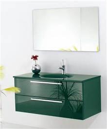 ריהוט זכוכית ירוק