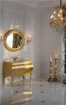 ריהוט זהב לאמבטיה