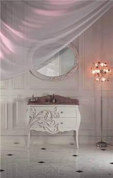 ריהוט אמבטיה לבן קלאסי