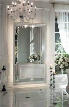 חדר אמבטיה לבן