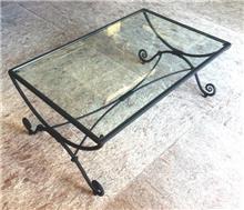 שולחן מלבני לחדר המגורים