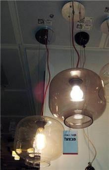 מנורת תליה שקופה