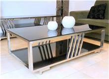 שולחן מלבני נירוסטה
