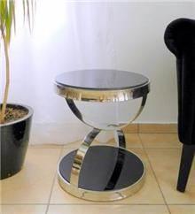 שולחן קפה נירוסטה