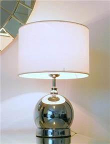 מנורת שולחן מתכת