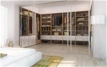 חדר ארונות מעוצב
