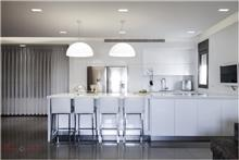 מטבח מודרני לבן - Samgal concept