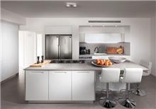 מטבח זכוכית לבנה - Samgal concept