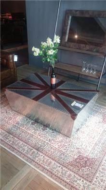 שולחן סלון אלומיניום