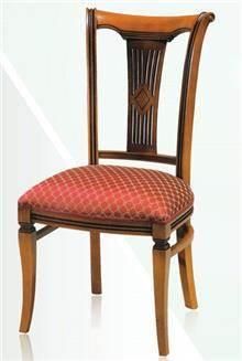 כסא אוכל מרופד