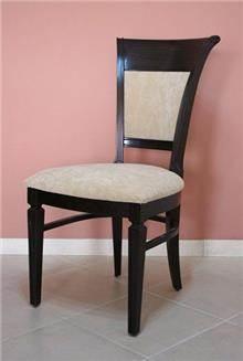 כסא ריפוד לבן