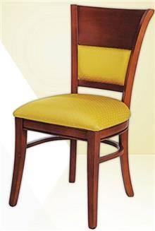 כסא ריפוד צהוב