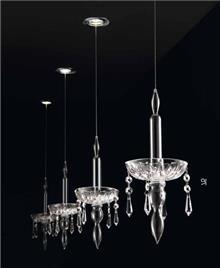 מנורות קריסטליות - LUCE לוצ'ה תאורה