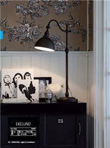 מנורה שחורה - LUCE לוצ'ה תאורה