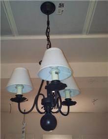 מנורת תליה 3 קנים