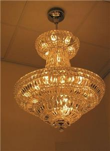 מנורת תליה קריסטלית