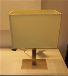 מנורת שולחן מלבנית