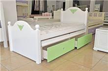 מיטת ילדים מעץ מלא - אלוף המזרונים