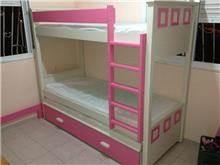 מיטת קומותיים לחדר בנות