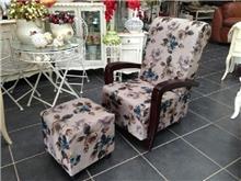 כורסא פרחונית