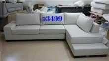 ספה פינתית אפור בהיר