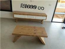 סט שולחן סלון ומזנון Bazic