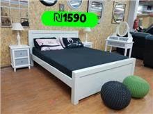 מיטה מעוצבת מעץ - אלוף המזרונים