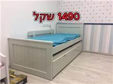 מיטת ילדים מעוצבת עם מגירות - אלוף המזרונים
